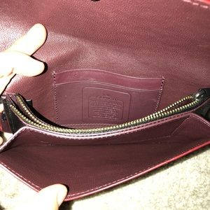 Coach Bags - Coach leather clutch